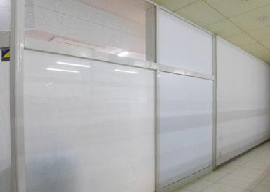 育児施設窓ガラスフィルム施工後画像